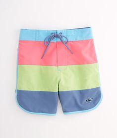 5a3c2d596505b Shop Boys Pieced Board Shorts at vineyard vines Girls Board Shorts, Boys  Home, Babies