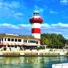 Lighthouse in Harbor Town, Hilton Head Island