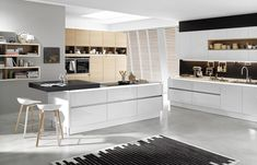 Image Result For Kitchen Ideas Modern White Units Kitchen - Cuisine camille foll