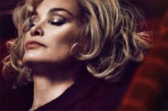 Jessica Lange pra Marc Jacobs Beauty