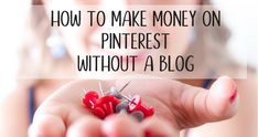 Put your Pinterest addiction to work and make money on Pinterest - no blog required. Use direct affiliate marketing via ShopStyle to make money from home.