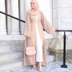 2019 Shanel Wholesale Factory Price Top Quality New Long Open Abaya Women Muslim Abaya Six Color Small Ball 2018 2018 Shanel Wholesale Factory… Modern Abaya, Modern Hijab Fashion, Hijab Fashion Inspiration, Islamic Fashion, Abaya Fashion, Muslim Fashion, Modest Fashion, Fashion Outfits, Dubai Fashion