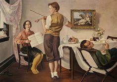 Gregorio Sciltian, Music Lesson, c. 1930