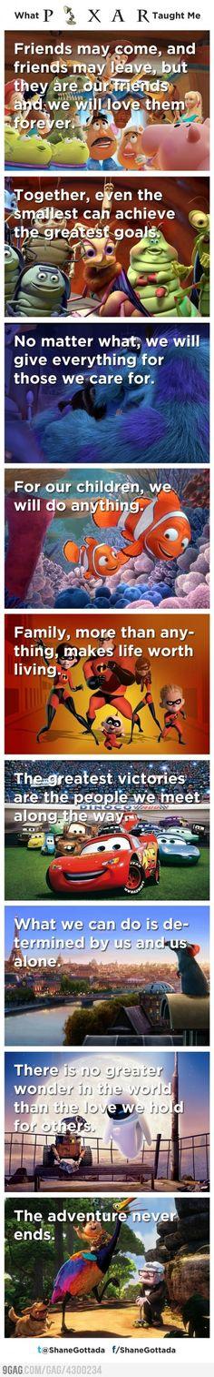 What Disney Pixar Taught Me                                                                                                                                                                                 More