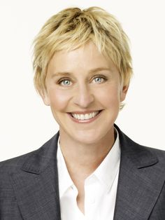 Ellen DeGeneres, the awesomest (yes, I know that's not a word) woman.