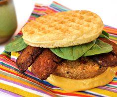 ultimate vegan breakfast sandwich | Hilary's Eat Well