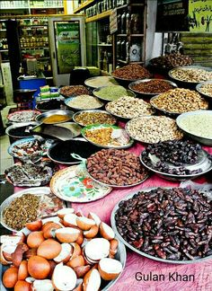 Dry fruits hunza valley