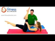 Thigh Slimming Pilates Butt and Thigh Workout - Free 32 Minute Online Pilates Class, Fitness Blender