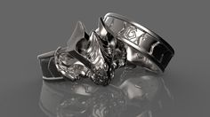 Baron, Sterling Silver Rings, Rings For Men, Creatures, Unique Jewelry, Handmade Gifts, Vintage, Etsy, Shopping