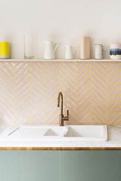 Herringbone Tiles -