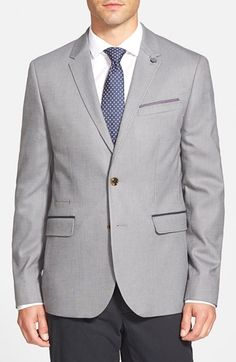 Ted Baker London 'Lubbock' Trim Fit Sport Coat (Tall)