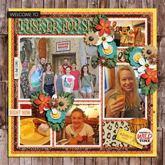 Welcome to Tusker House - MouseScrappers - Disney Scrapbooking Gallery