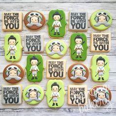 Star Wars Rey cookies
