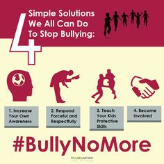 Beginning to foster a culture of caring, respect, and awareness starts with a few simple steps that make the biggest change. #bullying #BullyNoMore