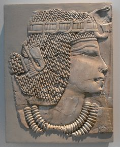 Limestone relief of Amenhotep III. Dynasty XVIII, circa 1360 BC. Ägyptisches Museum, Berlin.