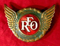 Reo Car Badge...Re-pin...Take care of your investment and look up #houseofinsurance #eugeneoregon