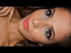 Too Faced Sugar Pop Palette Makeup Tutorial Summer 2015 - YouTube Too Faced Sugar Pop, Makeup For Blondes, Bathing Beauties, Popsugar, Palette, Make Up, Summer 2015, Baths, Youtube