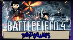 Battlefield 4 - É tiro, porrada e bomba! - Doidogames #61 (Origin PC Gam...