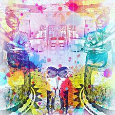#mirror #boy #watching #colour