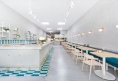 Café No. 19 in Melbourne, inspired by greek tradition and design