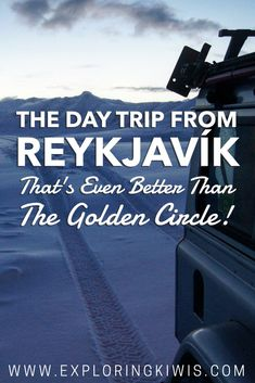 Leave Iceland's Golden Circle behind and head out to Snæfellsnes Peninsula.  Everything you could want in an Icelandic itinerary all in the one place!  We recommend touring with Bessi of Moonwalker - he was absolute magic!