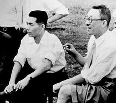 Daisaku Ikeda and Josei Toda. Mentors and Disciples.
