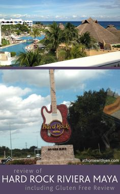 Review of Hard Rock Riviera Maya, including Gluten Free options that are available