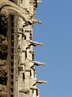 The meaning of gargoyles. Please visit this page to find out more about the meaning of gargoyles. They were more than just a downspout they had a real meaning. This article will amaze you, fascinate you and hopefully educate you a bit. In the meaning of gargoyles.