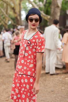 Jazz Age Festival - Beauty Street Style Looks