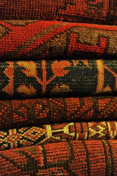 Hand knotted Afghan carpets