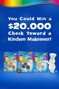 Enter the Pillsbury® Funfetti® Lil' Donuts Pin It Promotion. Click the image to get started. #lildonutspromo See Official Rules here: http://www.pillsburybaking.com/promotions/pin-it?id=1