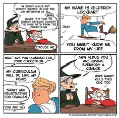 #4 Even... explains Dumbledore's most puzzling decision: hiring Gilderoy Lockhart.