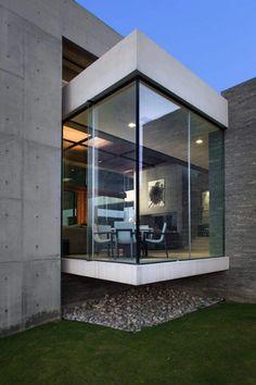 Fachada con volumetría bien marcada | houses | Pinterest | House ...