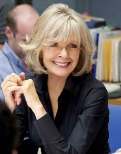 Hairstyles Haircuts For Women Over 50 Diane Keaton , This Style Is Using Layered Cut And The Hair Point Is Curved Shag And Bob Style Will Give You A Inspiration With Diane Keaton Hairstyle