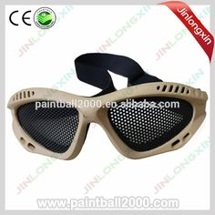 Tactical Military Safety Wire Mesh Airsoft Goggles
