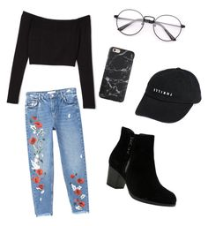"""""""A look"""" by jessperico ❤ liked on Polyvore featuring MANGO, Skechers and Thrills"""