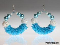 Earrings by Aiza Dolmatova