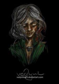 Cirilla Fiona Ellen Riannon by vedyminart witcher digital painting