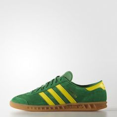 3e43118ec754 adidas Hamburg Shoes - Green