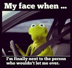My face when... Kermit the Frog