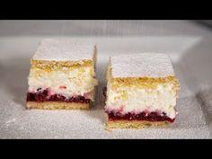 Meggyes-túrós krémes (Szécsi Szilvi) - YouTube Cheesecake, The Creator, Cookies, Youtube, Food, Kitchen, Mascarpone, Crack Crackers, Cooking