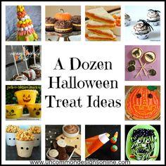 A Dozen Halloween Treat Ideas