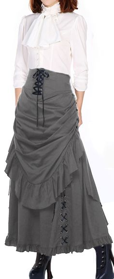 Victorian Steampunk Blouse and Skirt by Chic Star designed by Amber Middaugh 6h