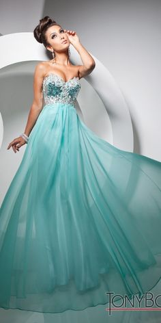 Love this glamorous Prom Dress from Tony Bowls Paris style 113729