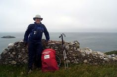 Dave Quarrell - The first person to walk to the entire perimeter of Wales - 870 miles of the Wales Coast Path and 177 Offa's Dyke Path in 2012.