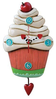Allen Design  Sweet Cupcake Duvar Saati : 159,90 TL | evmanya.com