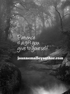 http://www.joannemalleyauthor.com/  Patience leads to understanding and compassion.