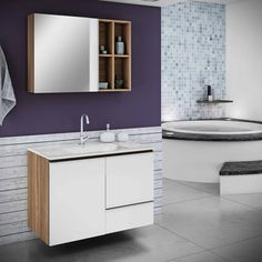 Banheiro MDP Double Vanity, Bathroom, 1, Lineup, Wardrobe Closet, Washroom, Full Bath, Bath, Bathrooms
