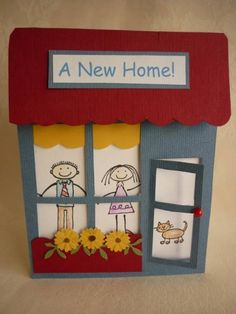 All in the Family New Home by Teglow - Cards and Paper Crafts at Splitcoaststampers (Feb'16)