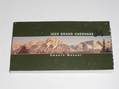 2004 Jeep Grand Cherokee Owners Manual Book